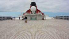 Frau über Bord mit Happy End auf der Queen Mary 2