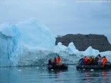 Zodiactour im Ilulissat Eisfjord mit MS Delphin