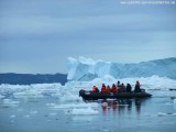Zodiac-Ausflug im ewigen Eis