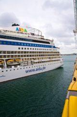 AIDAblu - Flottentreffen in Kopenhagen mit AIDAsol und AIDAblu 1