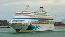 AIDAcara: Unfall im Hamburger Hafen
