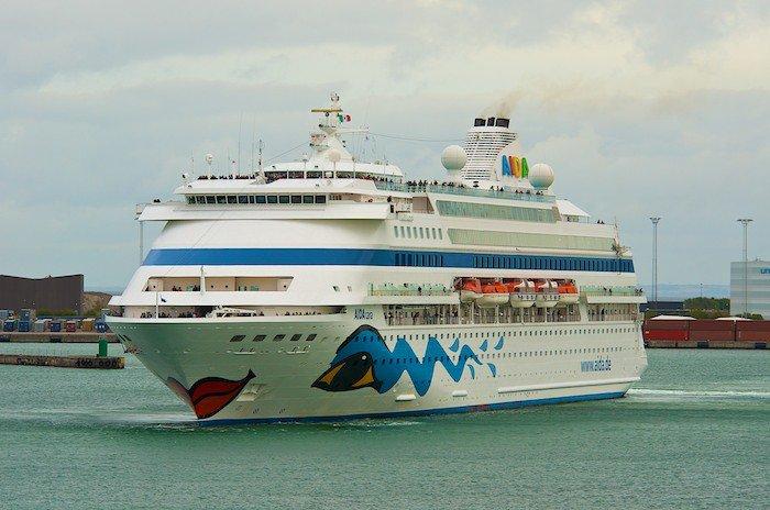 AIDAcara - Flottentreffen in Kopenhagen mit AIDAsol und AIDAblu