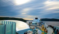 Einlaufen und Auslaufen nach Oslo durch den Oslofjord mit AIDAsol (Zeitraffer-Videos und Bilder)
