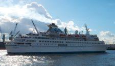 MS Delphin wird nicht nach Australien verchartert