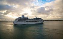MS Nautica wird von Sturm Ali losgerissen in Schottland