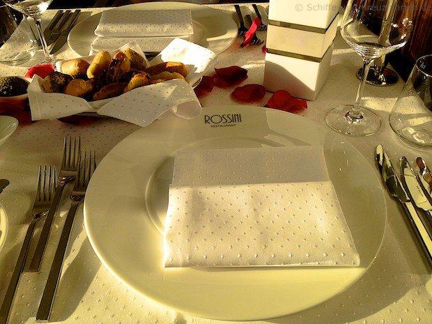 Rossini Restaurant - Tischgedeck