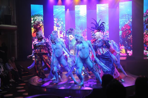 Show Kauri - exklusiv auf AIDAmar / © AIDA Cruises