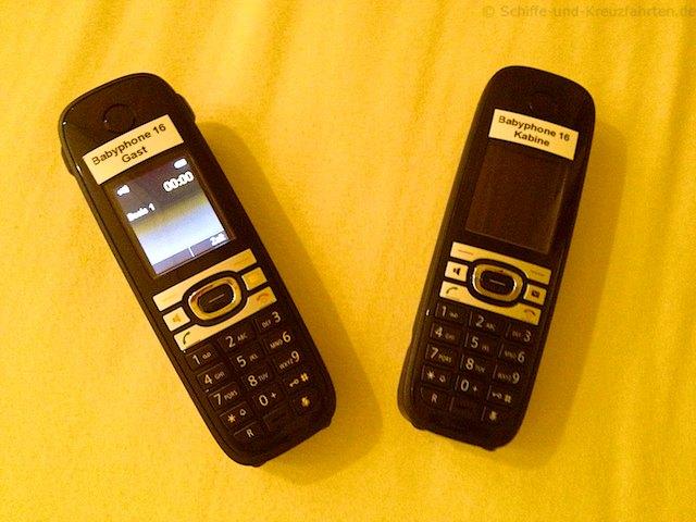 AIDA Babyphone - schnurloses Telefon
