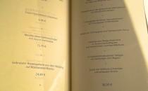 Rossini Restaurant - Menükarte