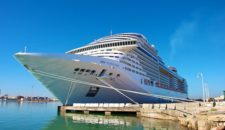 Mehr Kreuzfahrtschiffe im östlichen Mittelmeer von MSC Kreuzfahrten