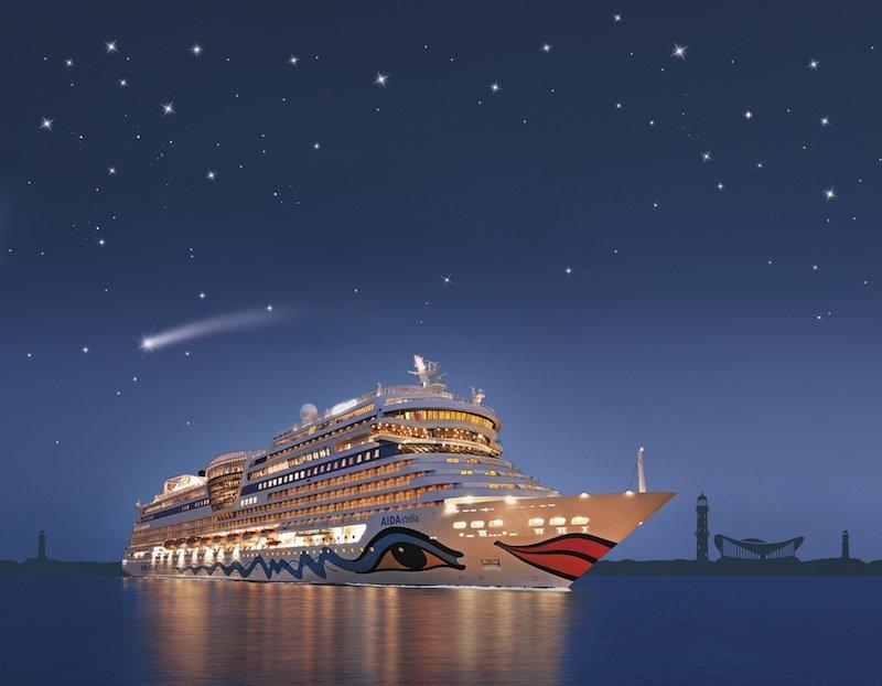 AIDAstella im Zeichen der Sterne / © AIDA Cruises