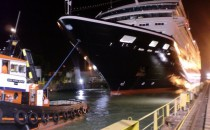 Azamara Journey verlässt Werft in Singapur renoviert und mit neuem Look