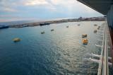 Costa Fascinosa - Crew Drill mit Rettungsbooten 2