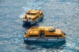 Costa Fascinosa - Crew Drill mit Rettungsbooten 4