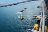Costa Fascinosa - Crew Drill mit Rettungsbooten 5