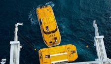 Bilder: Crew Drill mit Rettungsbooten von Costa Fascinosa