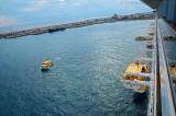Costa Fascinosa - Crew Drill mit Rettungsbooten 7