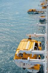 Costa Fascinosa - Crew Drill mit Rettungsbooten 8