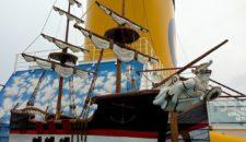 Costa Fascinosa Kidsbereich: Wasserspielplatz und Piratenschiff