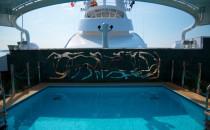 Yachtclub Sonnendeck bei MSC Kreuzfahrten