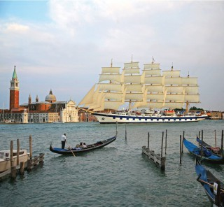 Royal Clipper in Venedig / © Star Clippers
