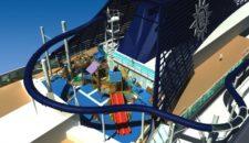 MSC Preziosa hat die längste Wasserrutsche (Vertigo) der Welt