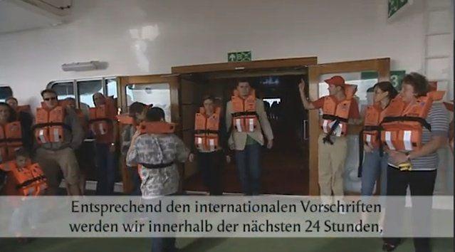 AIDA Cruises - Sicherheitsvideo / © Screenshot AIDA Video