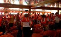 Seenotrettungsübung: Reisebericht Antarktis mit MS Delphin