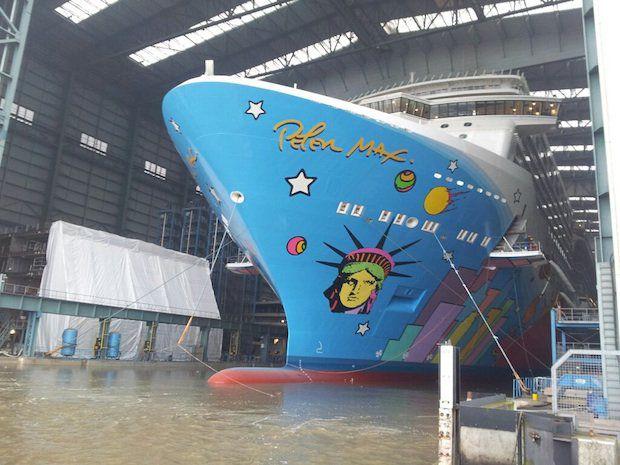 Ausdocken Norwegian Breakaway: Bilder, Webcam, Videos – direkt von der Meyer Werft