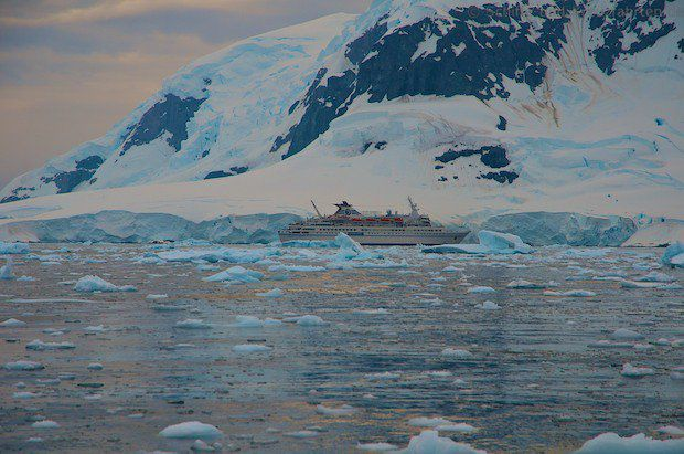Paradise Bay in der Antarktis