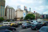 Strassenverkehr in Buenos Aires