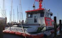 Seenotretter aus Travemünde retten Segelyacht vor dem sinken