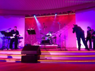 AIDA Crew meets Band auf AIDAdiva