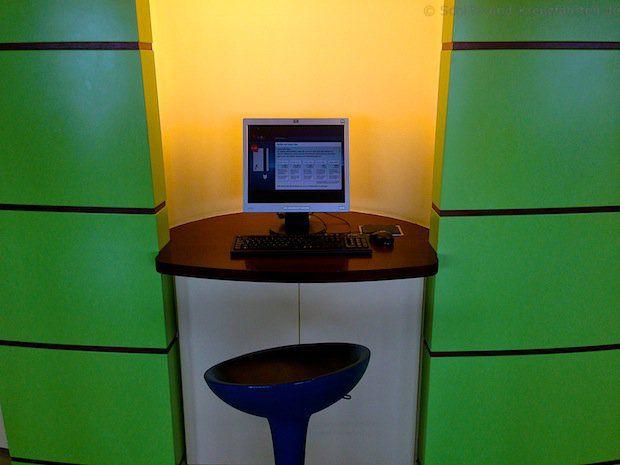 AIDA Internet-Terminal auf Deck 5