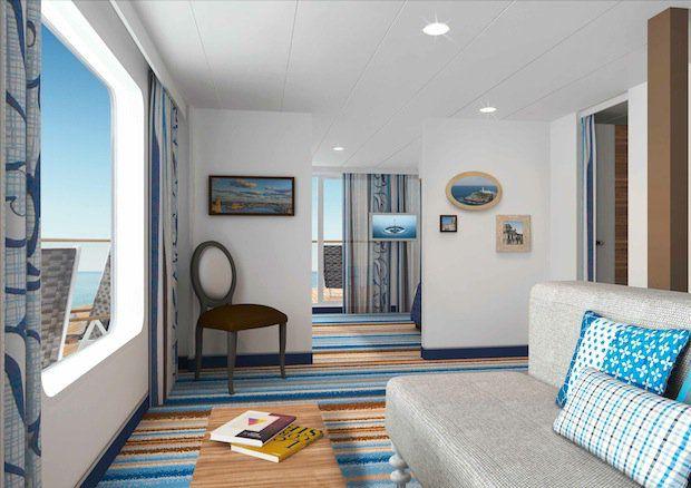 Familienkabine deluxe mit Verand - MEIN SCHIFF 3 / © TUI Cruises