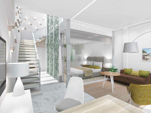Himmel und Meer Suite - Wohnbereich - MEIN SCHIFF 3 / © TUI Cruises