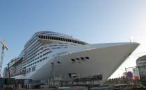 MSC Preziosa: Erste Bilder & Eindrücke von der Werft