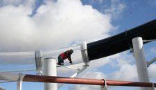 MSC Preziosa: Endmontage der längsten Schiffsrutsche der Welt