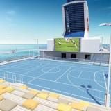 Mein Schiff 3 - Sportarena / © TUI Cruises