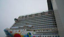 Bremerhaven: Norwegian Breakaway kommt zur Endausrüstung