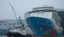 Norwegian Breakaway kommt heute (29.3) nach Bremerhaven und bleibt bis 24.04.2013