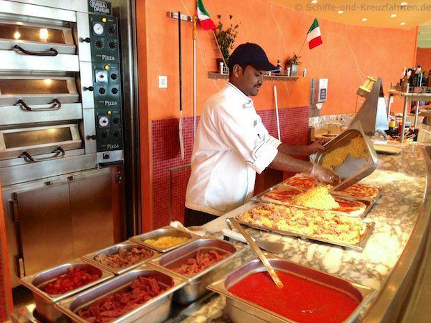 AIDA Cruises: Pizzeria Mare – Speisekarte und mehr!