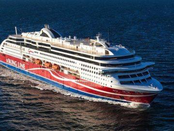 Viking Grace kommt frisch aus der Werft / © Viking Line