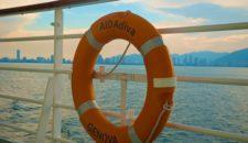 AIDAdiva umgeroutet: Ashdod wird ersetzt durch Santorin