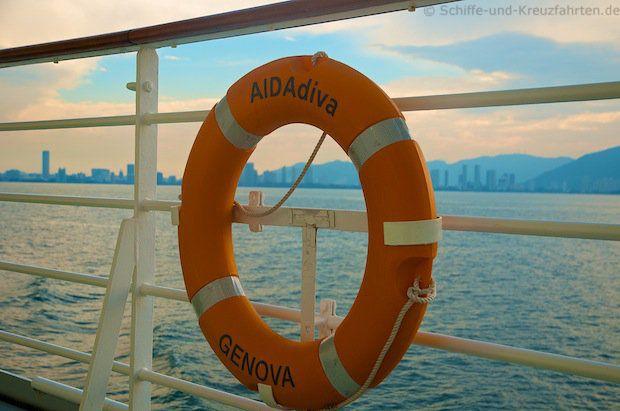 AIDAdiva auf See