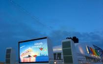 AIDAstella eröffnet die Cruise Parade der Hamburg Cruise Days 2014