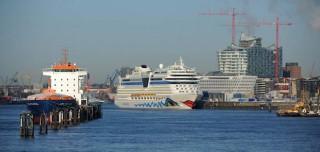AIDAstella - Erstanlauf in Hamburg / © AIDA Cruises