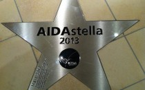 Walk of Fame von AIDAstella (Bilder und Video)