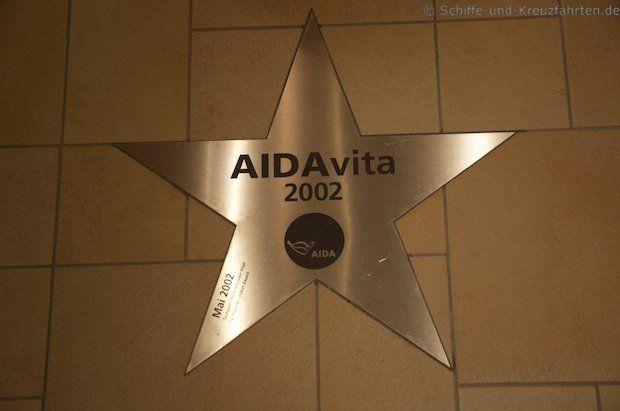 AIDAvita - Walk of Fame AIDAstella
