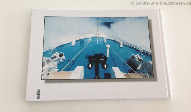 Antarktis-Fotobuch - Cover hinten